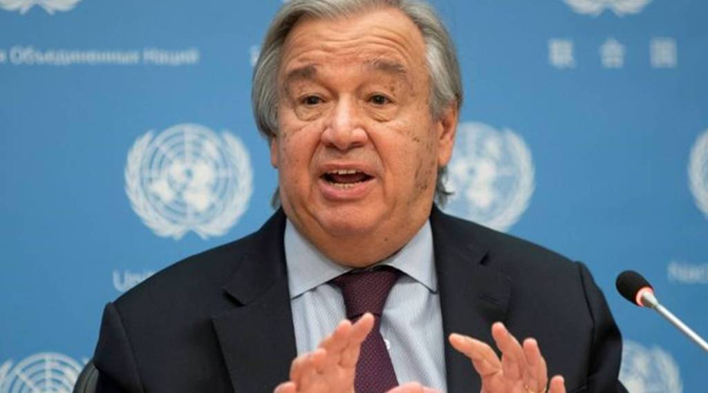 UN, UN Secretary-General, Antonio Guterres, Afghanistan, Afghanistan poverty, Poverty, Geneva, indian express, indian express news, world news, current affairs