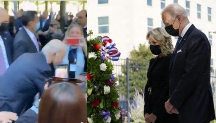 Joe Biden booed at 9/11 memorial for worsening the Afghanistan crisis, video viral