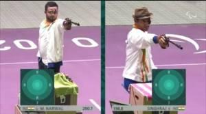 Paralympics 2020, Manish Narwal, Singhraj Adhana, Gold winner, Shooter Narwal, Modi congratulates Narwal, silver medal winner Singhraj Adhana, rection on Narwal winning gold