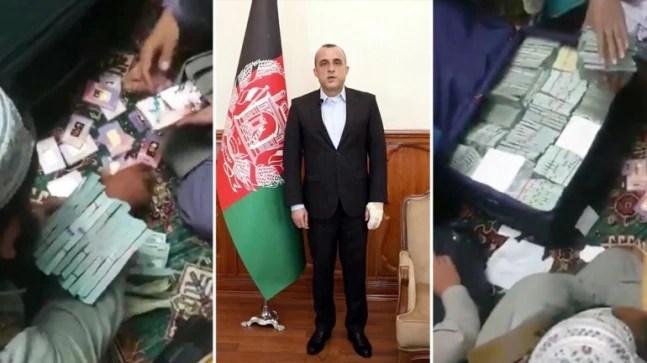 Taliban claim $6.5 million, 18 gold bricks recovered from Amrullah Saleh's home