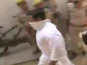 Aashish Mishra Monu: Ashish Mishra Monu, who arrived for questioning in the Lakhimpur Kheri case, is accused of murder under 302