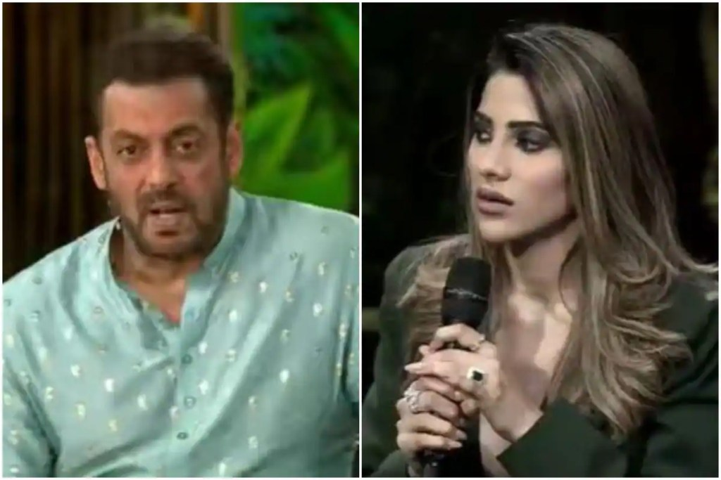 Bigg Boss 15: Salman Khan Mocks Nikki Tamboli For Supporting Pratik Sehajpal, Asks