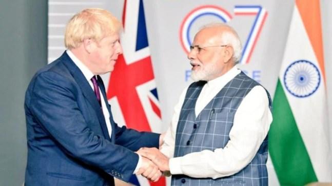 Boris Johnson calls PM Modi, hails UK's recognition of Indian vaccine certification