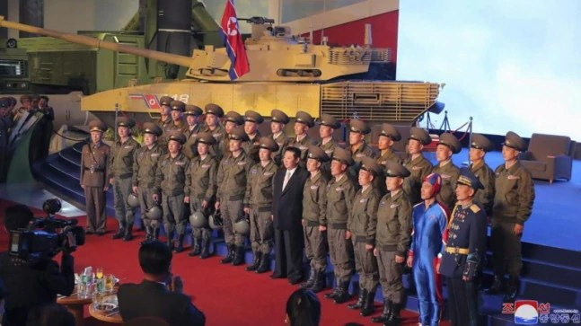 Captain DPRK or rocket man? Photo of Kim Jong Un with North Korean soldier goes viral