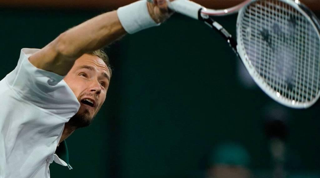 Indian Wells: Top-seeded Medvedev wins, Pliskova upset