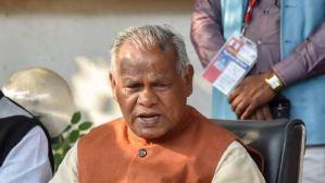 'Let Biharis handle Jammu and Kashmir, we will fix the problems in 15 days': Former Bihar CM Jitan Ram Manjhi