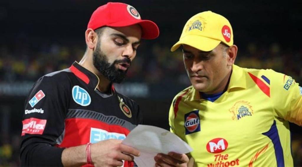 RCB skipper Virat Kohli congratulates Dhoni on match winning knock against Delhi Capitals