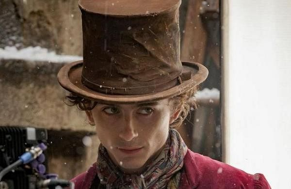Timothee Chalamet reveals first look as young Willy Wonka