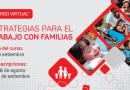 Preinscríbete al curso virtual, «Estrategias para el trabajo con familias»