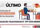 Guía para el TRABAJO REMOTO DE LOS DOCENTES (RVM N° 097-2020-MINEDU)[PPT resumido]