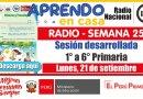 SESIÓN RADIAL DESARROLLADA (Adaptada para el estudiante) – Lunes 21 de setiembre de 2020 (Ciencia y tecnología) – [PRIMARIA: 1° a 6°][Descargar aquí]