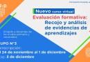 Grupo 3 del Curso Virtual «Evaluación formativa: Recojo y análisis de evidencias de aprendizajes», Preinscripción: del 24 de noviembre al 1 de diciembre de 2020