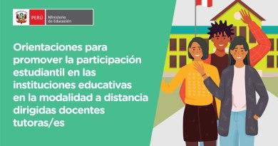 Promoviendo la participación estudiantil protagónica y democrática [Orientaciones – PDF]