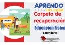 CARPETA DE RECUPERACIÓN – EDUCACIÓN FÍSICA [Secundaria][Referencial][Descargar aquí]