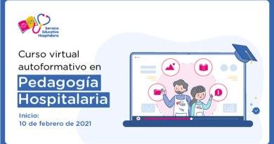 Participa del segundo curso virtual autoformativo en pedagogía hospitalaria, Las preinscripciones se realizarán del 19 al 25 de enero de 2021