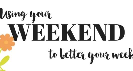 weekend healthy