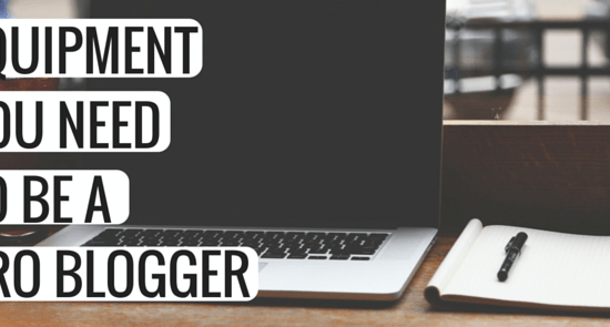 EQUIPMENTYOU NEED TO BE APRO BLOGGER