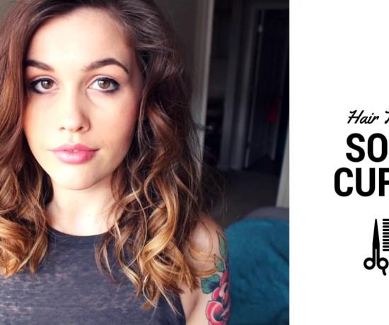 soft curls hair tutorial