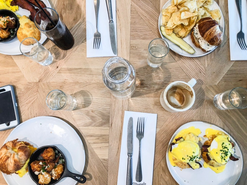 First Look Grand Opening Of Fixer Upper S Restaurant