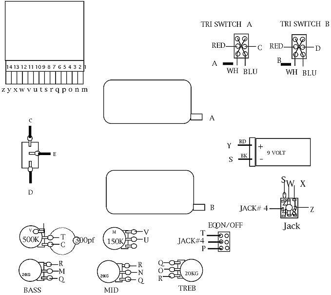 Ibanez Bass Wiring Diagram efcaviationcom
