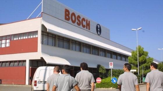 Lavoro A Bari Allarme Tra Gli Operai Della Bosch A