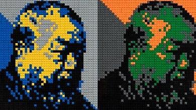 Risultati immagini per Uffizi, il dono di Ai Weiwei: l'artista cinese regala alla Galleria un autoritratto in Lego