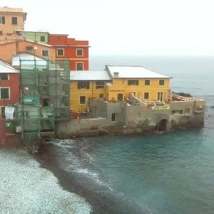 Neve, allerta arancione in tutta la Liguria e rossa ad Imperia.