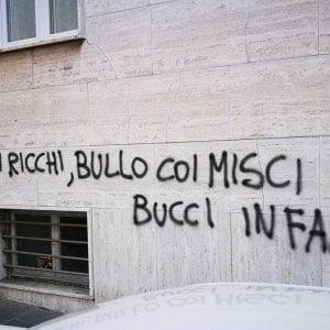 Genova Nuove Scritte Contro Il Sindaco Bucci Repubblicait