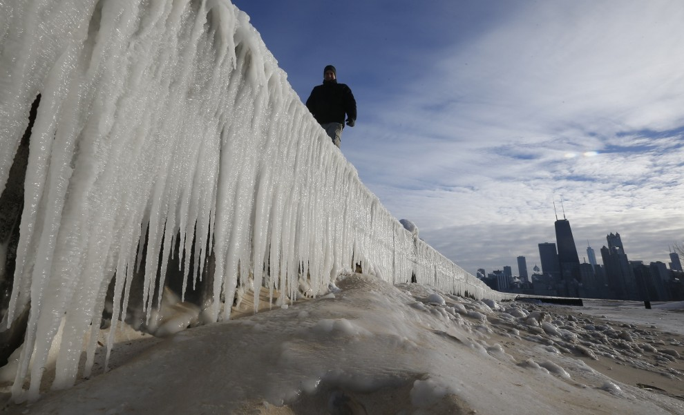 Usa, viaggio nel grande freddo: fotoracconto del ghiaccio