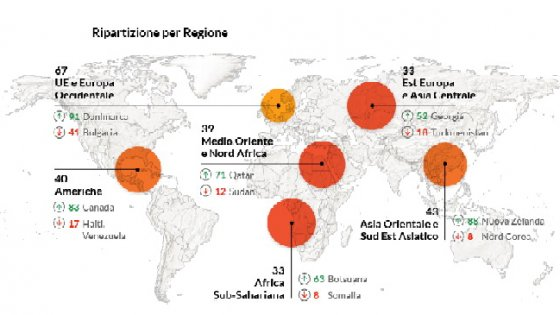 """Corruzione, Italia tra i """"cattivi"""": migliora, ma è 61esima al mondo"""
