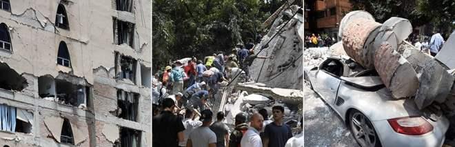 Il Messico trema ancora, scossa di magnitudo 7.1· foto· live tv.Almeno 75 morti, crolli e vittime anche nella capitale· mappa