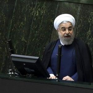 """Iran, Rouhani: """"Rafforzeremo forze militari e balistiche"""""""