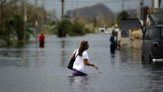 Uragano Maria, crolla diga a Porto Rico:  abitanti in fuga da due cittadine inondate
