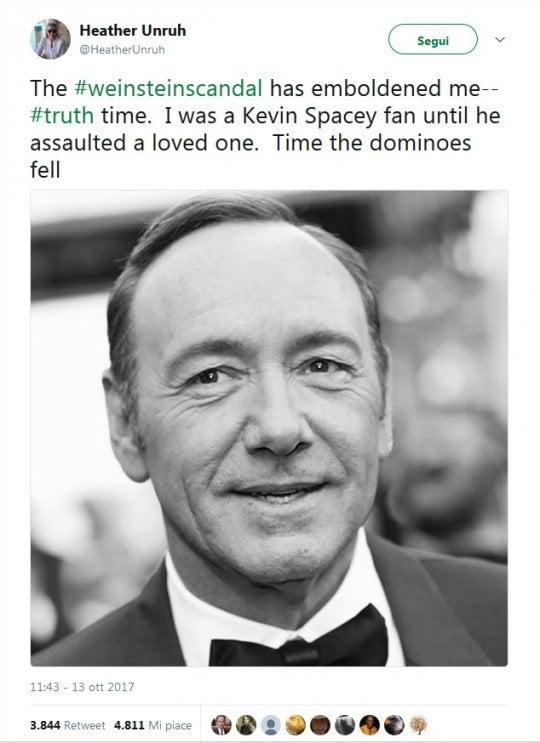 Molestie sessuali, stop a Kevin Spacey: non sarà Paul Getty nel film di Scott