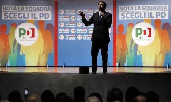 """Renzi, appello ai cattolici: """"Il centrodestra non è moderato"""""""