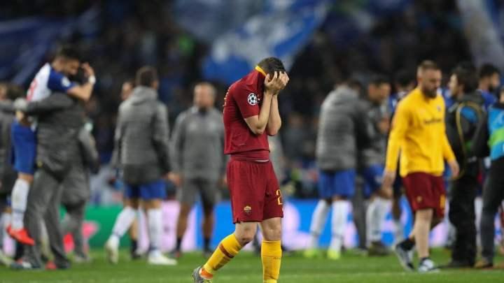 La Roma eliminata dal Porto | Numerosette Magazine