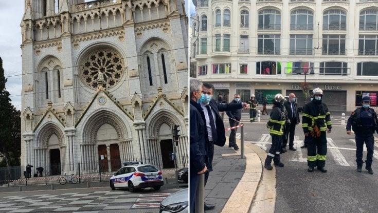 """Nizza, attentato in una chiesa: tre morti e un ferito grave. Macron: """"Francia sotto attacco"""". L'aggressore sbarcato a Lampedusa a settembre"""
