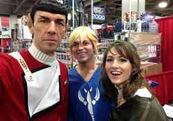 Selfie with Spock at the 2015 SLC Comic Con