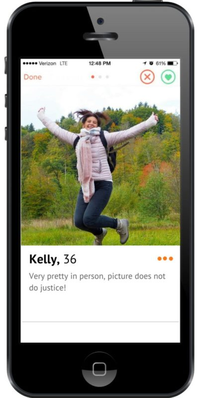 What if Tinder was like reptile ads? - Kelly, 38