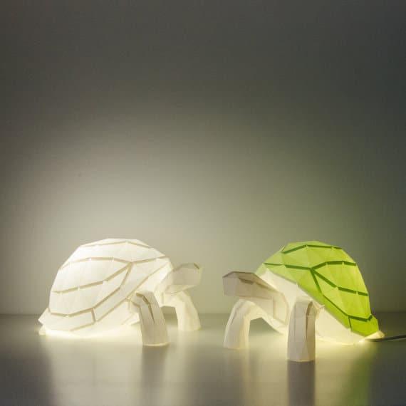 Christmas 2017 reptile gift ideas — Paper tortoise lamp kit