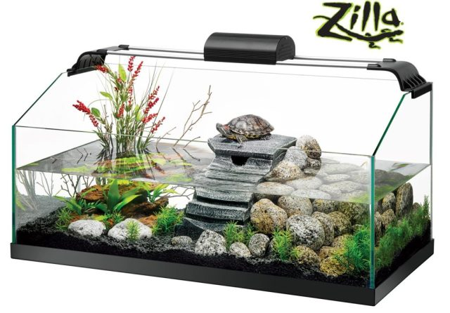 Zilla Premium Reptile Kit for Aquatic Turtles