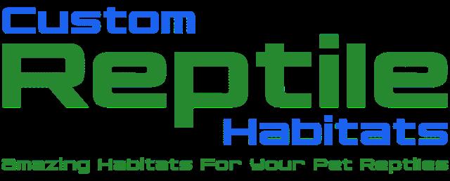 Custom Reptile Habitats logo - sponsor