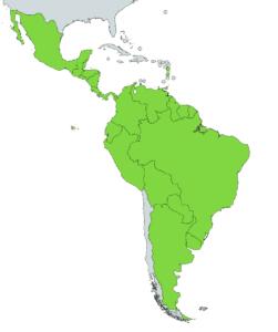 Boa constrictors native range south america
