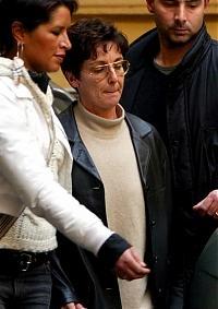 Rita Algranati allarrivo in Italia