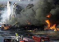 <B>Perugia, esplode oleificio<br>4 morti e un disperso</B>