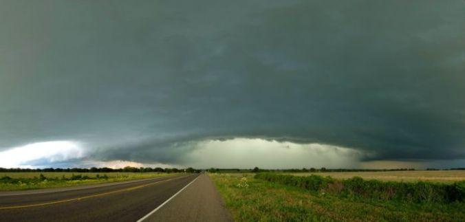 occhio del ciclone tornado