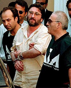 L'arresto di Francesco Schiavone