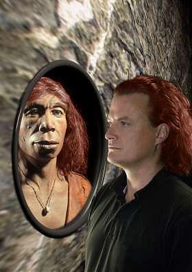 Risultati immagini per neanderthal rosso
