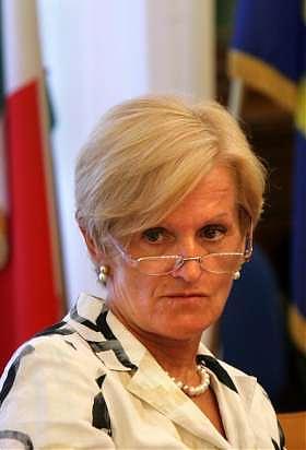 Il ministro della Sanità Livia Turco