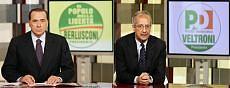 Berlusconi e Veltroni-Conferenza stampa (repubblica.it)